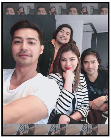 angel locsin goes blonde for new film role kiligg source