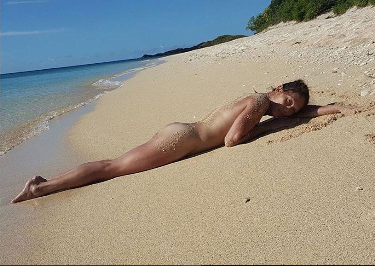 Ellen b gets naked on her white armchair - 1 part 9