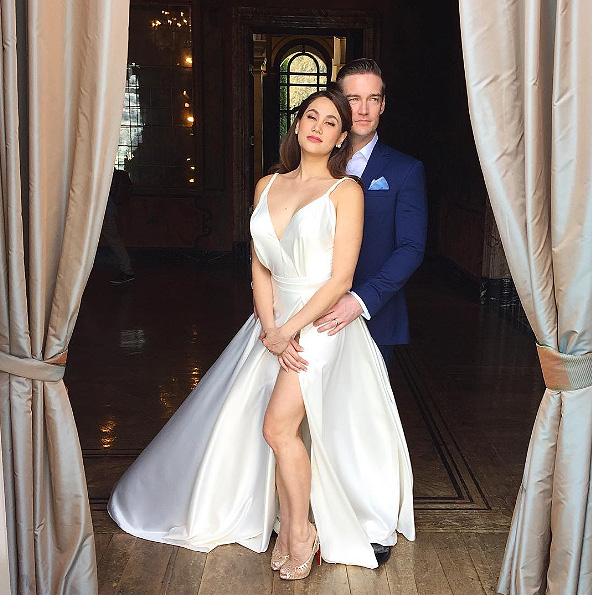 Cristalle Belo And Justin Pitts Prenup Shoot In Lake Como Italy