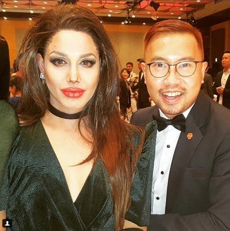 Paolo Ballesteros Transforms Into Angelina Jolie For Tokyo