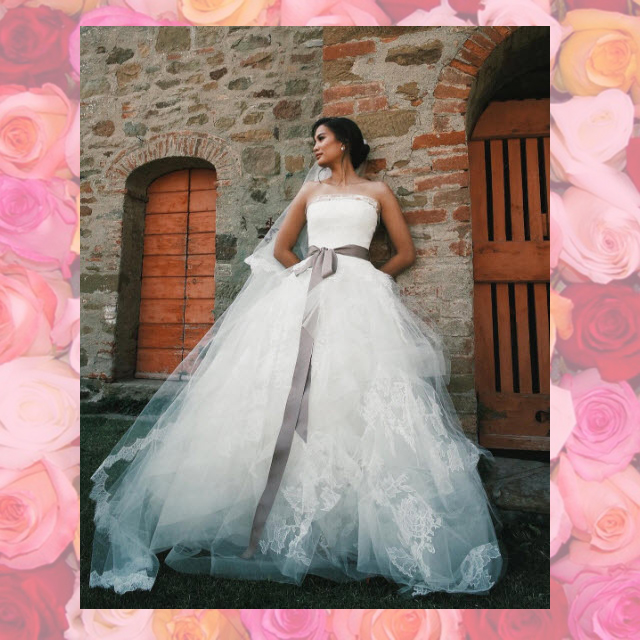 Wedding Gown Manila: Celebrity Brides Who Wore Vera Wang On Their Wedding Day
