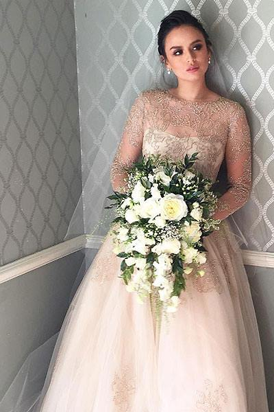 Philippine celebrity brides hairstyles