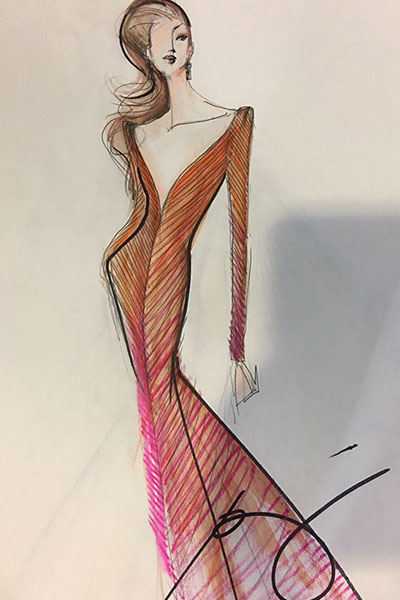 Six designers sketch evening gowns for Maxine Medina | PEP.ph
