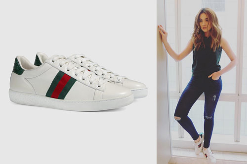 4b1b108b306d This pair of Gucci shoes is presently a celebrity favorite