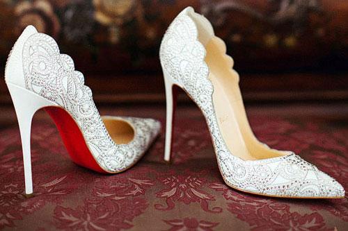 meet e31b0 28264 7 celebrity brides and their gorgeous bridal shoes | PEP.ph
