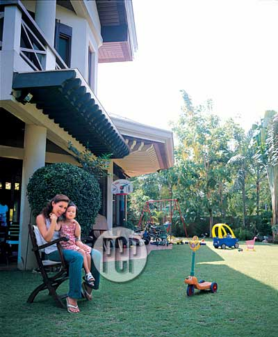 Christine Jacob And Her Kid Friendly Not Formal House