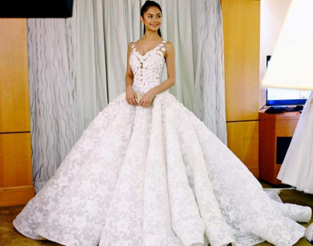 Claudine barretto wedding gown pictures wedding dress - Fashion dresses
