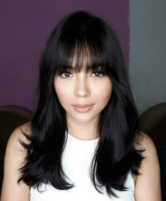 Yay Or Nay Julia Montes And Her New Bangs Pep Ph