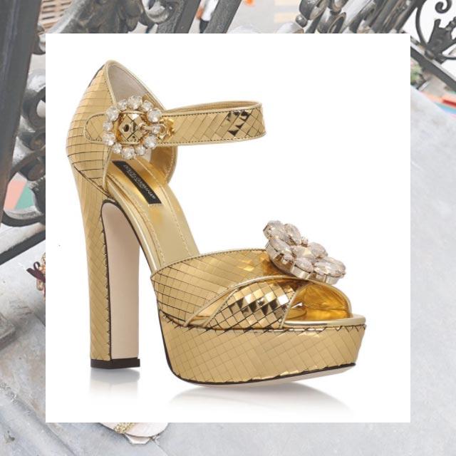 Heart Evangelista Wedding Shoes