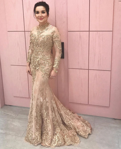 Wedding Sponsor Gowns: Kris Aquino Does Something Unimaginable Clad In A Gown