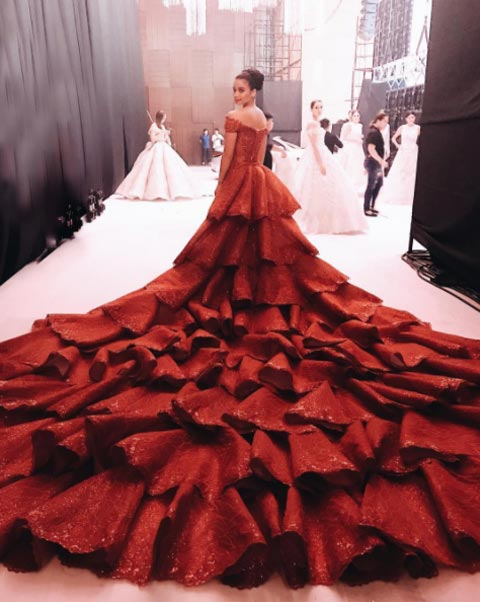 Which Wedding Gown Would You Wear Red Black Or Gold Pepph