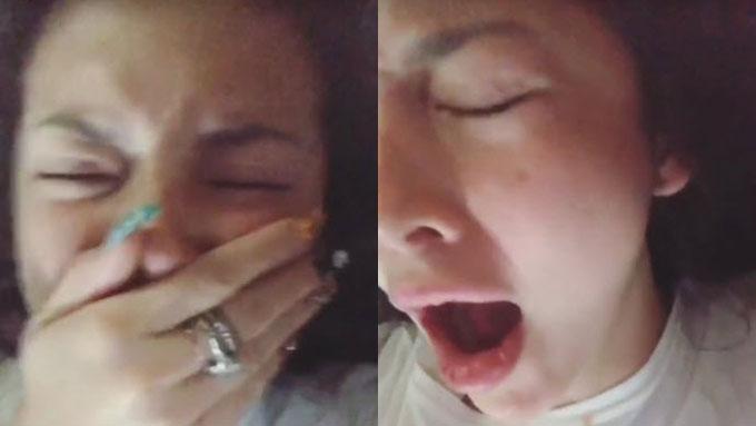 Ellen Adarna posts video of her lying in bed with John Lloyd