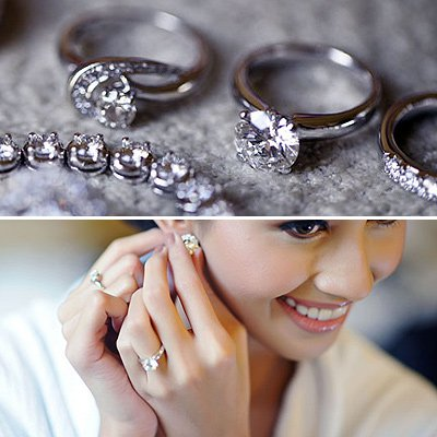 Heart Matching Wedding Bands