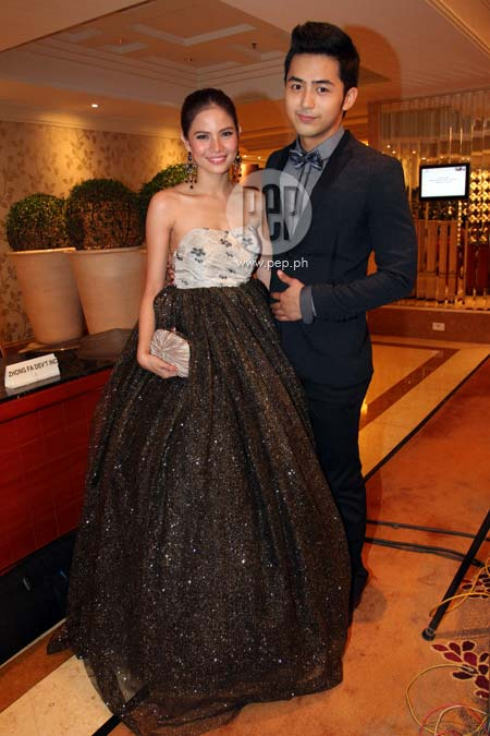 louise delos reyes and enzo pineda relationship