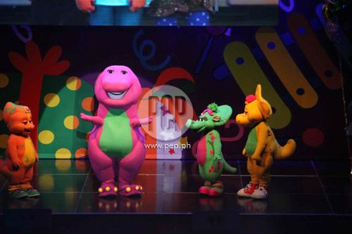 Barneys Birthday Bash Musical Concert PEPph - Barney live in concert birthday