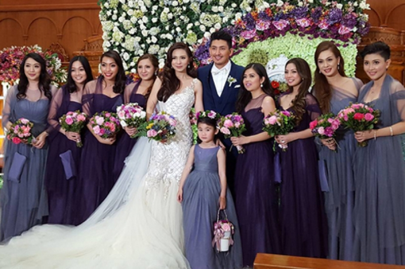 Regine Angeles And Van Victor Leano Wedding