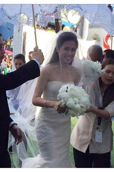 Alex gonzaga wedding