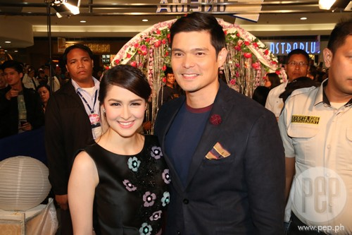 Marian Rivera full support for Dingdong's movie - Team Dantes