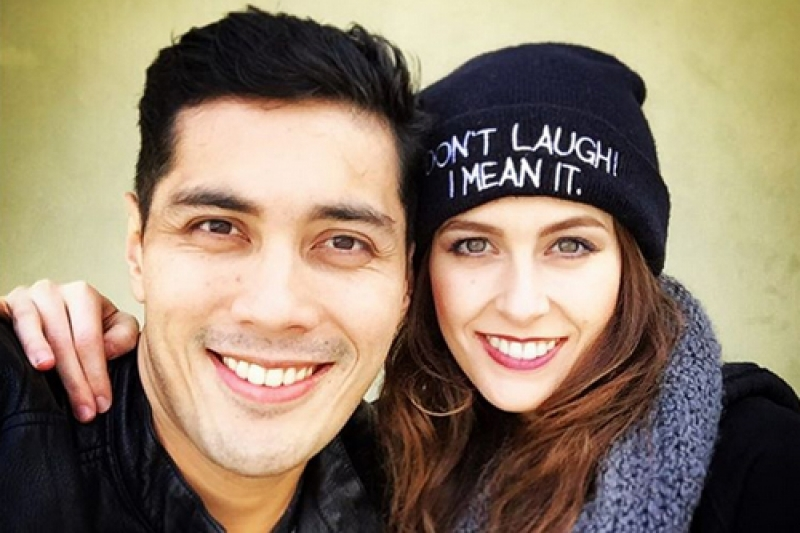 Image result for Gian Magdangal and Melissa Bell