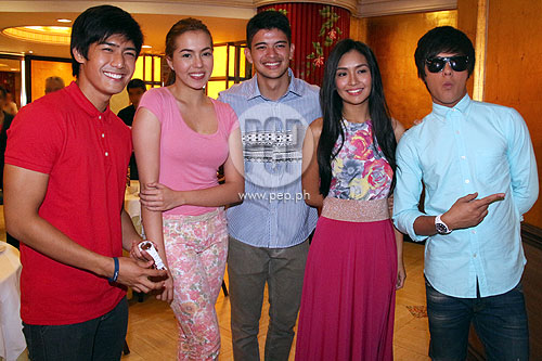Kathryn Bernardo And Julia Montes And Daniel Padilla Kathryn Bernardo and