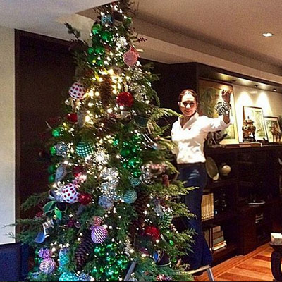 20 celeb christmas trees spotlight gallery Christmas tree decorating ideas philippines
