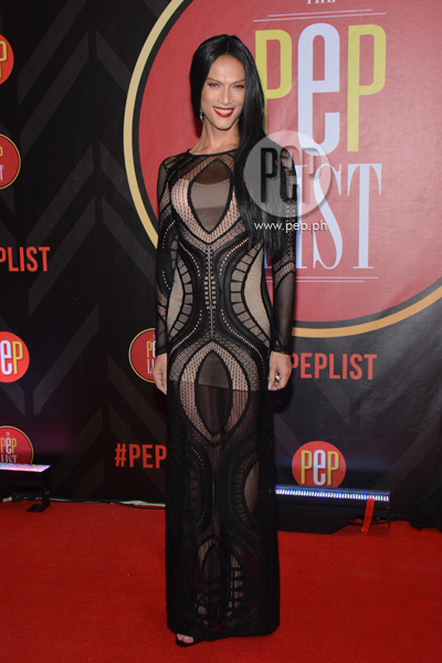 Stunning in Black-White dresses at The PEP List Year 2 ...