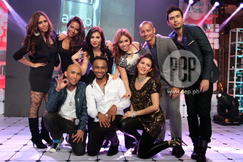 The Kitchen Show Cast the kitchen musical cast wows manila with music and food! | pep.ph