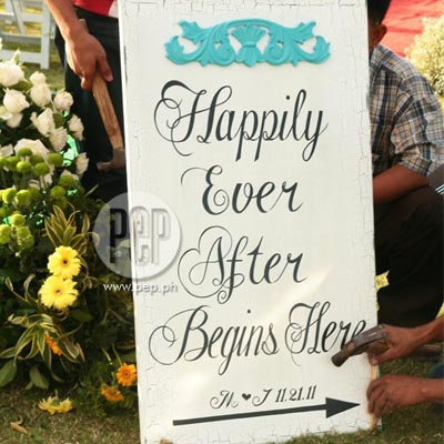 Wedding Vows Obey on The Jolina Magdangal Mark Escueta Wedding   A Dream Come True