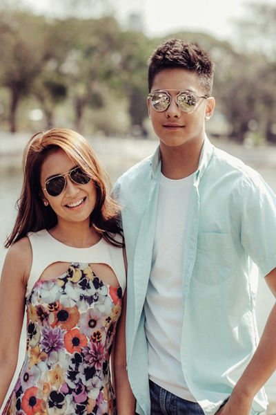 Daniel padilla and kathryn bernardo sweet pictures