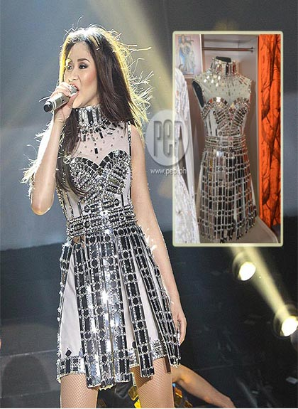 Sarah Geronimou0026#39;s P6M concert outfits | Gallery | PEP.ph The Number One Site for Philippine Showbiz