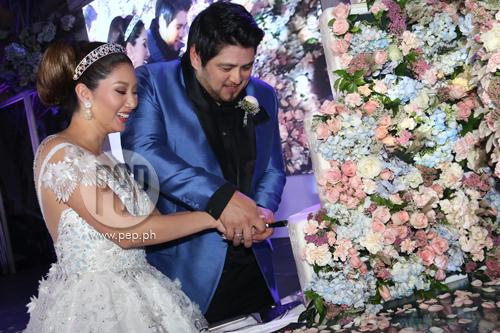 Elvis Gutierrez Wedding Cake