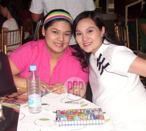 Bianca Lapus Bianca lapus (left) was