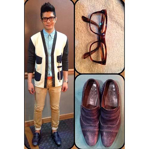 Vhong Navarro Fashion Style Rainy day fashion by vhong