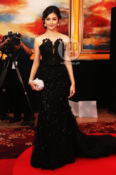 The Star Magic Ball 2014 Gorgeous Ladies In Black Fab Gallery Pep Ph The Number One
