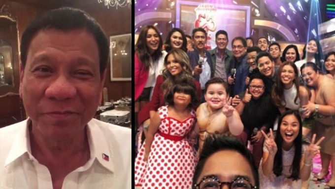 WATCH: Duterte has a special message for 'Eat Bulaga'