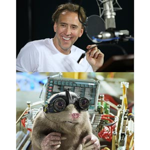 Nicolas Cage Lends Voice For Speckles In G Force Pep Ph