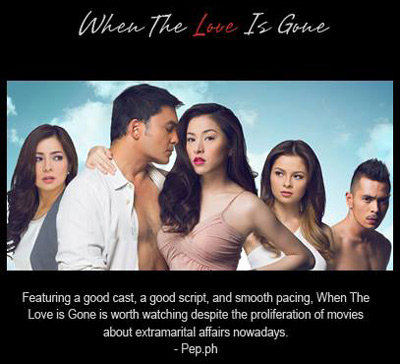 Top Filipino Pinoy Romantic Movies: When the love is gone