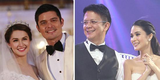 Marian-Dingdong versus Heart-Chiz wedding TV ratings