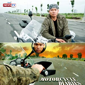 Jay Taruc Travels Around The Philippines For Motorcycle Diaries His New Show On GMA News TV