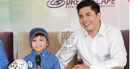Rakki Mateo (left) plays the lead character in Honesto while Paulo