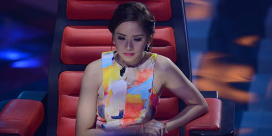 "Sarah Geronimo jokes on The Voice Kids: ""Ako pa lang ang ..."
