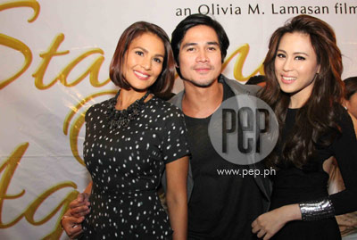 Toni gonzaga starting over again black dress