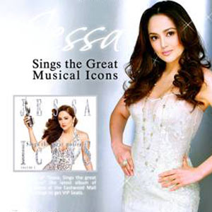 Sing Tracks From Her Latest Album Jessa Sings The Great Musical Icons