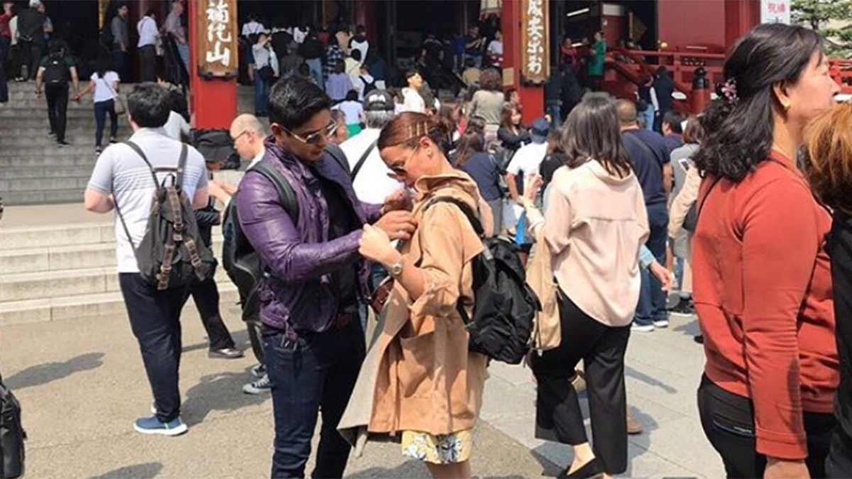 Coco Martin, Yassi Pressman cozy in Japan amid romance rumors