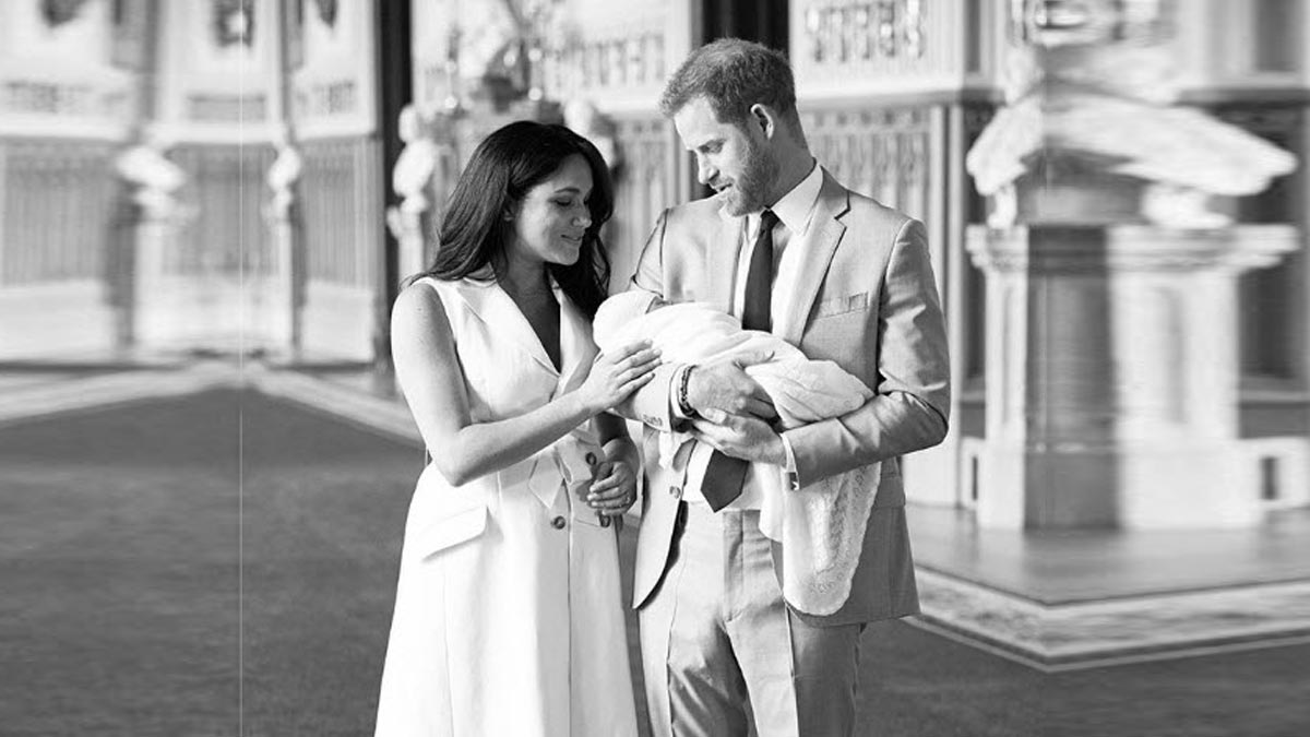 prince harry meghan markle name their son archie harrison pep ph pep ph