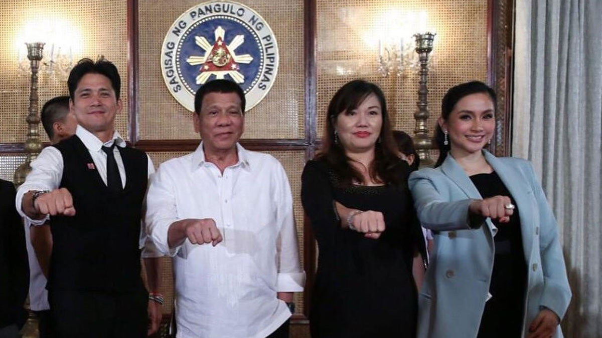 a20806ae6f89 Mariel Padilla reveals Malacanang Palace dinner sidelights; Kris ...