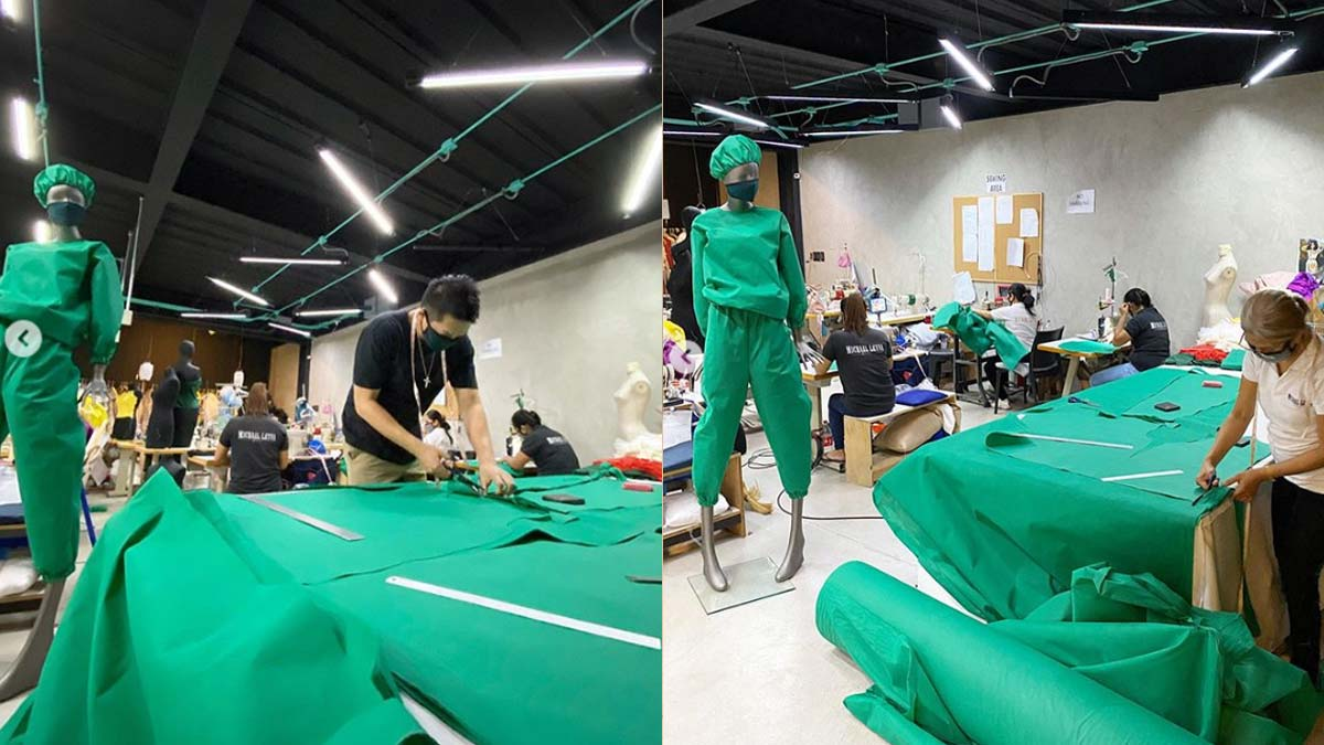 Fashion Designers Make Protective Gears For Health Workers Pep Ph