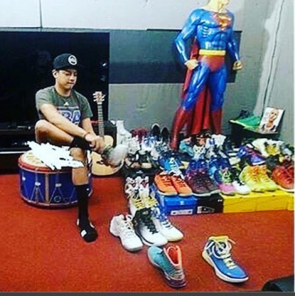daniel padilla stephen curry shoes collection