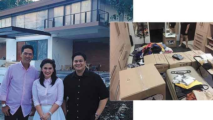 Pauleen luna ready to move into her new home