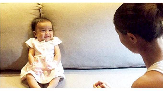Dingdong Dantes, Marian Rivera post photo of smiling Maria ...